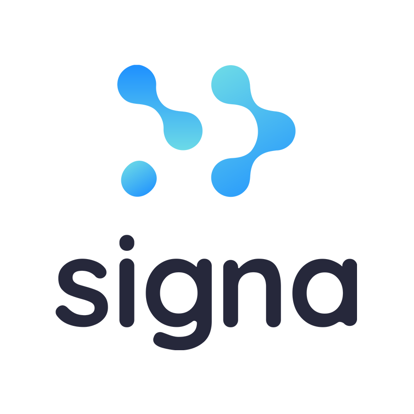 Novo logo da Signa