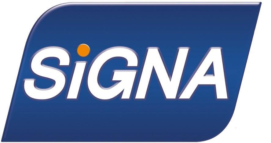 Segundo logo da Signa