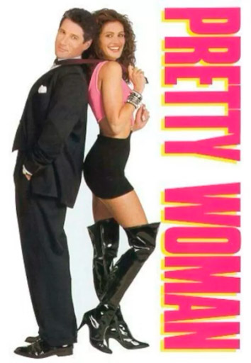 """Filme """"Uma Linda Mulher"""", um Romance/comédia de 1990"""