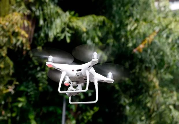 Sua próxima refeição pode chegar voando com um drone (Foto: Arquivo/Agência Brasil)