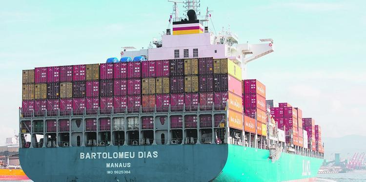 Aliança Navegação registrou incremento de 17% no transporte de cargas ao longo do primeiro trimestre. FOTO: Divulgação
