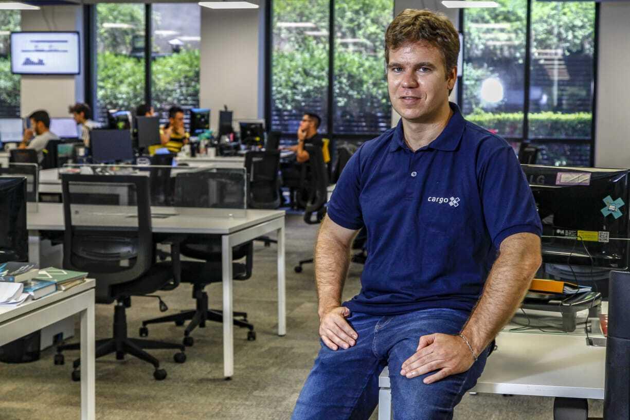 Fundador da empresa quer crescer no agronegócio, movimentando carga por app e oferecendo recursos (Foto: Marcelo Pereira)