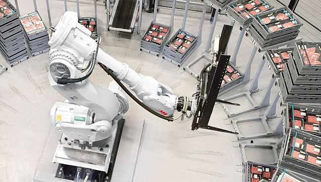 Braço robótico da ABB em indústria de alimentos: inovação aberta com a China